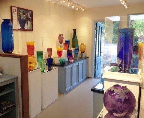 My newly-renovated showroom