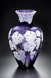Cabernet Grapes SOLD OUT  Can possibly have one custom made glass art by Cynthia Myers