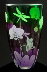 another test glass art by cynthia myers
